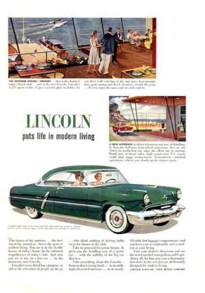 Lincoln Capri (1952)