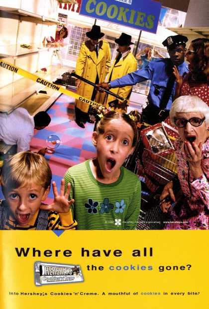 Where have all the cookies gone? (2001)