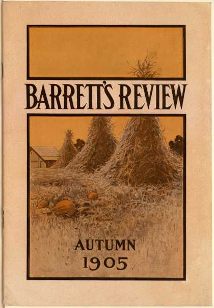 Barrett Mfg. Co.'s roofing materials – Barrett's Review (1905)