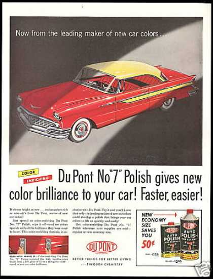 Du Pont Dupont No 7 Auto Polish Cleaner (1957)