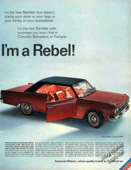 1966 amc rambler rebel