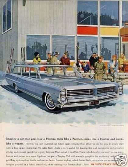 "Pontiac Wagon Ad ""Imagine a Car... (1964)"