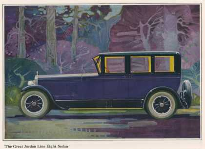 Jordan Line Great Sedan Car, USA (1925)