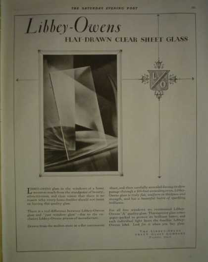 Libbey Owens Glass AND Swan Pens (1928)