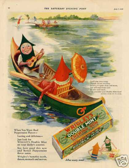 Vintage Candy Advertisements of the 1920s