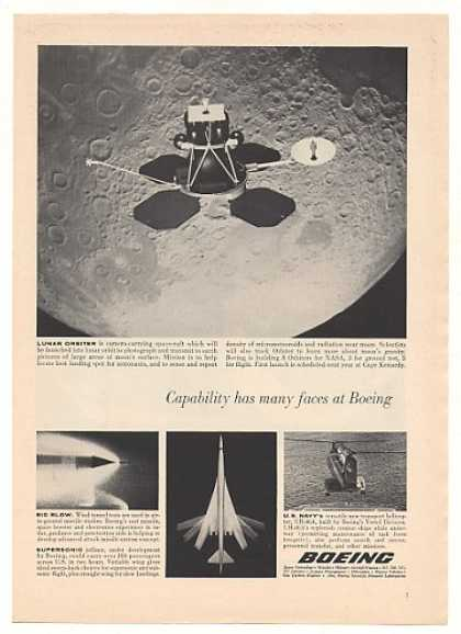 Boeing NASA Lunar Orbiter Spacecraft (1965)