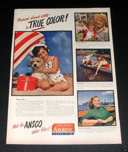 "Ansco ""True Color"" Film (1946)"