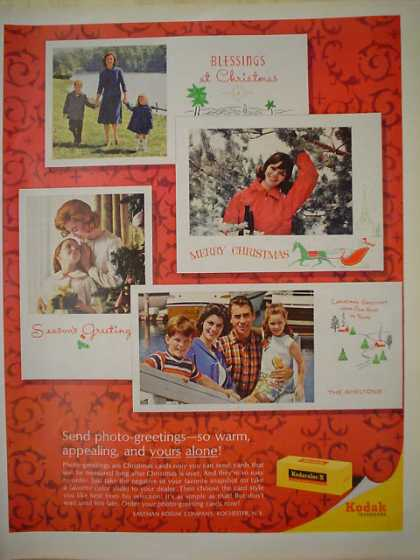 Eastman Kodak Co Rochester NY Christmas theme (1964)