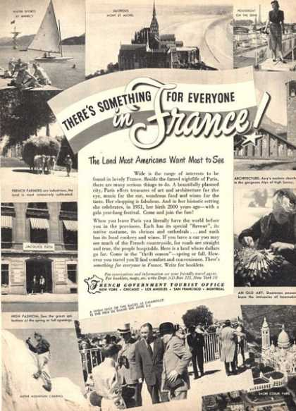 France French Travel Tourist Office (1951)