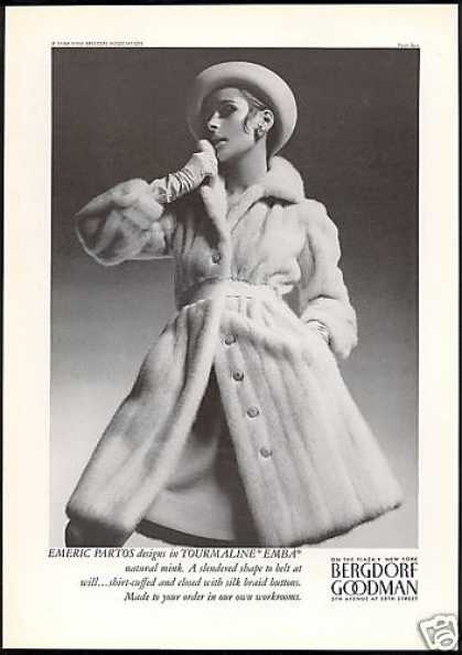 Emeric Partos Emba Fur Mink Coat Photo (1967)