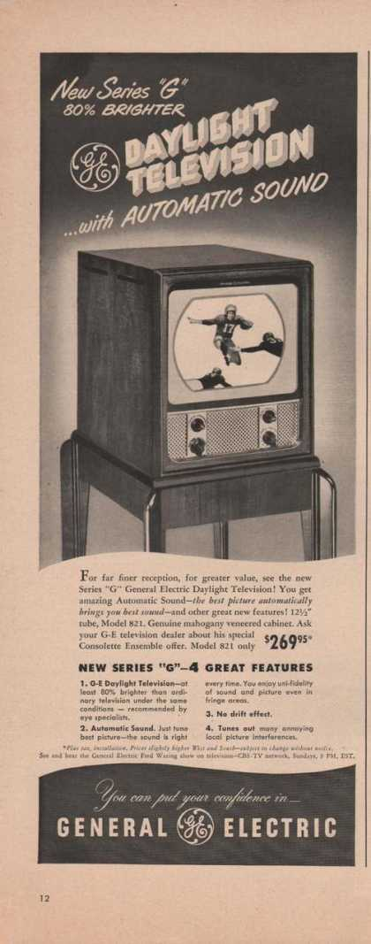 Table Top G E Daylight Televison (1949)