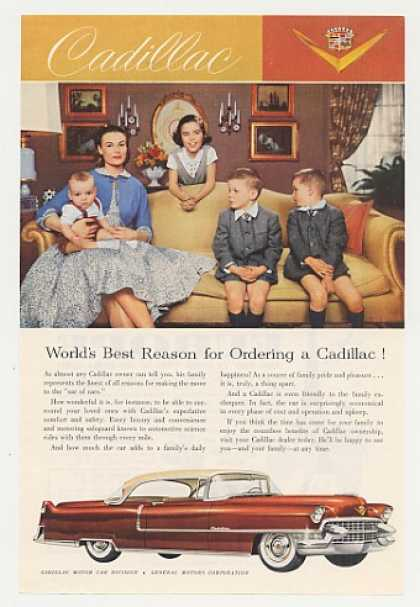 Cadillac Family Best Reason for Ordering (1955)