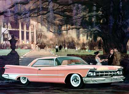 Imperial Crown two-door Southampton in Persian Pink Charles Schridde (1959)