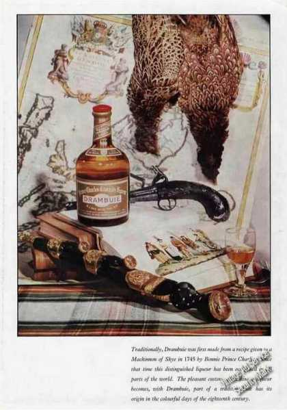 Drambuie From Bonnie Prince Charlie Uk (1960)