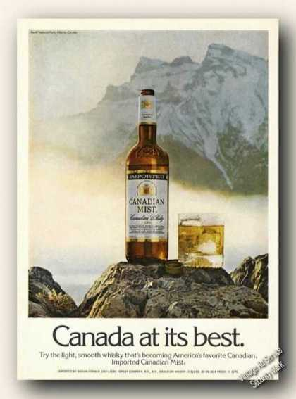 Canada at Its Best Canadian Mist Color (1975)