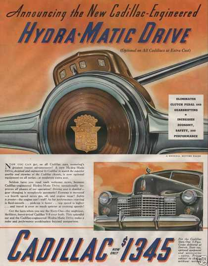 Cadillac Hydra Matic Drive Car (1940)