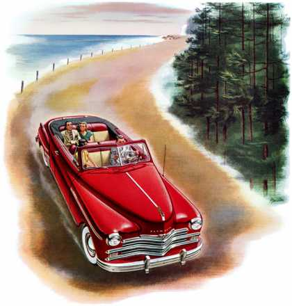 Plymouth convertible H. Miller (1949)