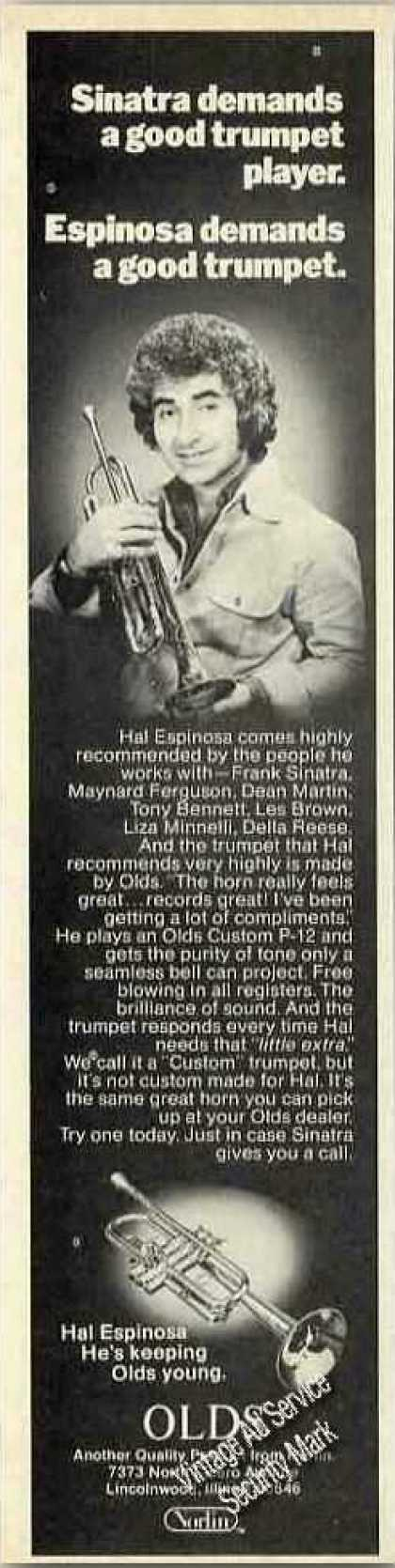 Hal Espinosa Photo Olds Trumpet (1976)