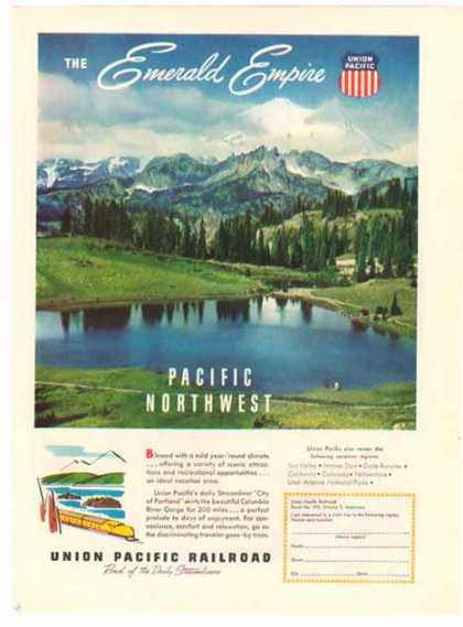 Union Pacific Railroad – The Emerald Empire (1948)
