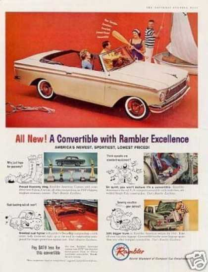 Rambler Convertible Car (1961)