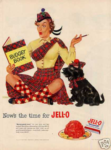 Jello Ad Scottish Terrier (1952)