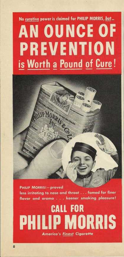 Call for Philip Morris Cigarette (1946)