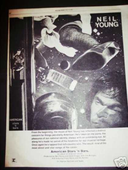Neil Young American Stars 'n Bars Record Promo (1977)