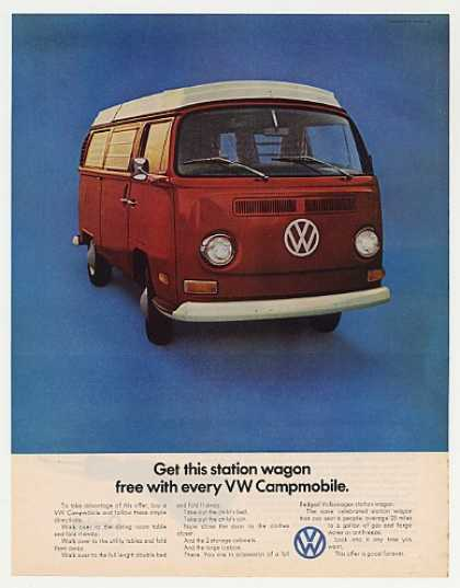 VW Volkswagen Free Station Wagon Campmobile (1971)