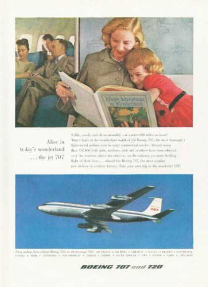 Boeing 707 Jetliner Plane Airplane (1959)