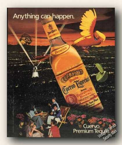 Anything Can Happen Cuervo Tequila City Lights (1984)