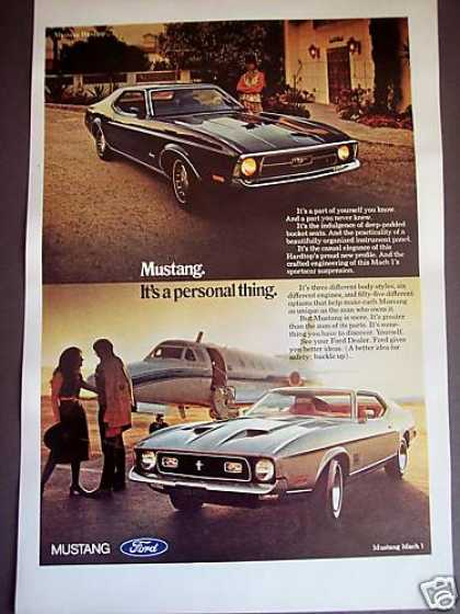 Ford Mustang & Mach I Classic Car Photo (1971)
