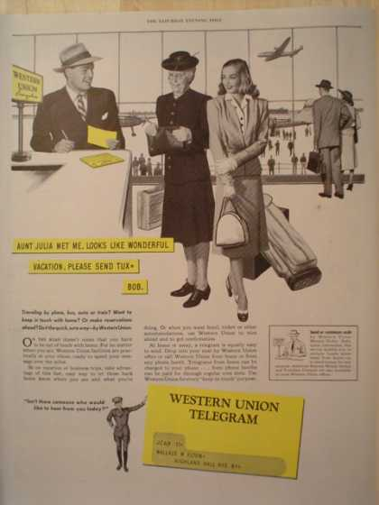 Western Union Telegram (1947)