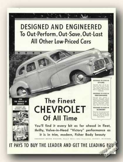 Chevrolet Photo Antique Car (1941)