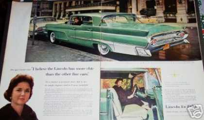 Lincoln for 59 Original 2pg Car (1959)