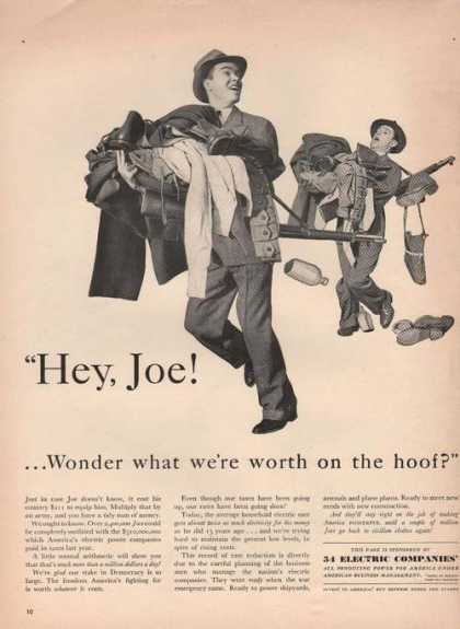 54 Electric Companies Hey Joe (1942)