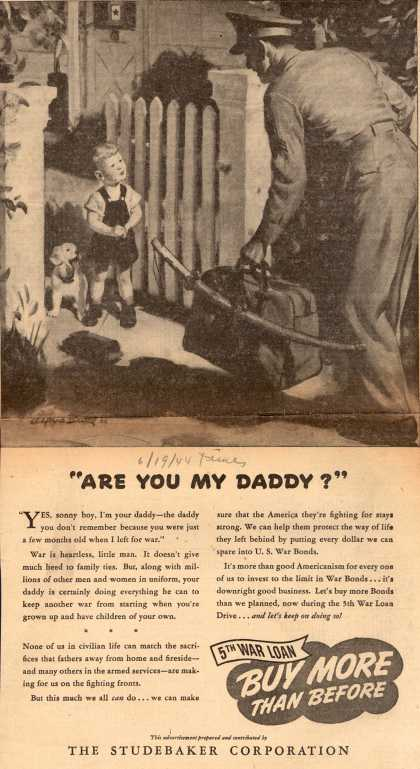 "Studebaker Corporation's 5th War Loan – ""Are You My Daddy?"" (1944)"
