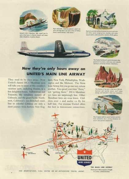United Air Lines Airplane (1948)