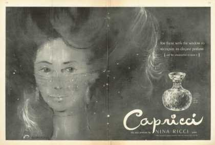 Nina Ricci Capricci Perfume Very Unique (1961)