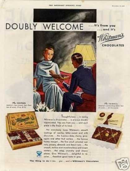 Whitman's Chocolate Candy (1933)