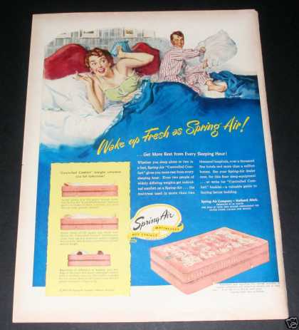 Spring Air Bed Mattresses (1949)