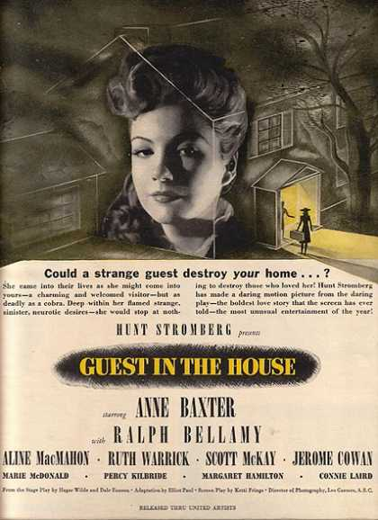 Guest in the House (Anne Baxter and Ralph Bellamy) (1944)