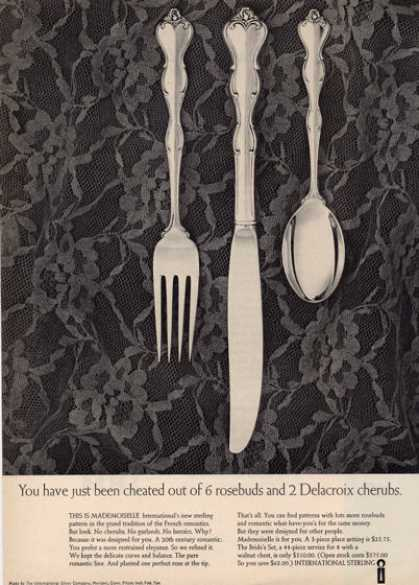 International Sterling Silverware Mademoiselle (1964)