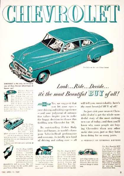 Chevrolet Styleline Coupe #1 (1949)