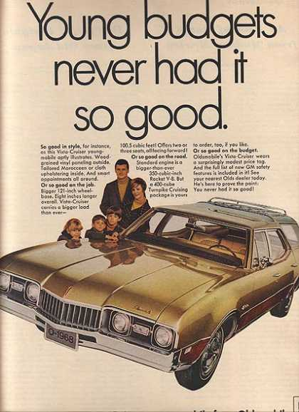 General Motor's Oldsmobile Cutlass (1968)