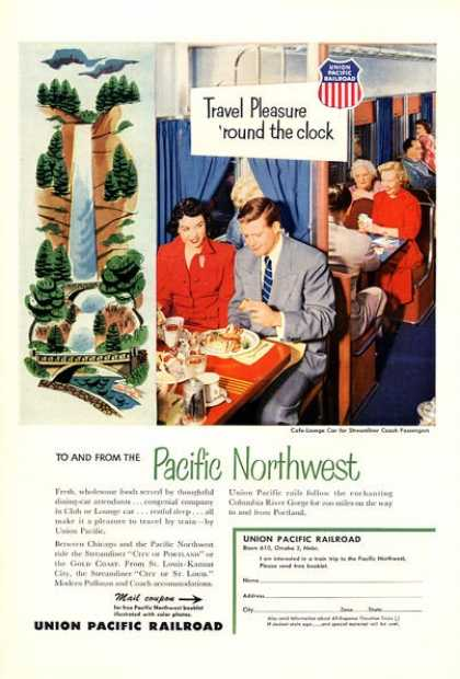 Union Pacific Northwest Railroad Lounge (1953)