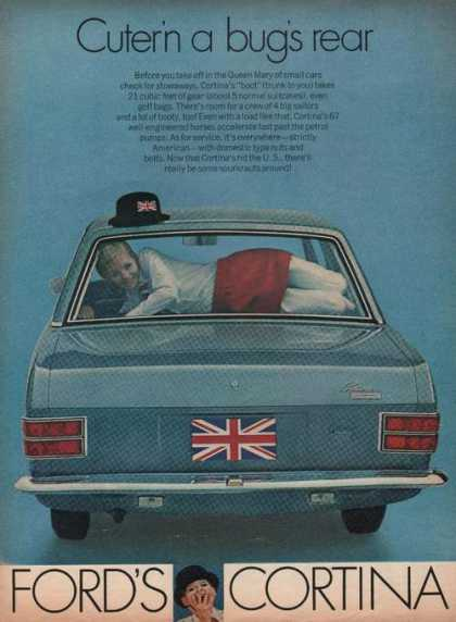 Ford Cortina Blue Car (1969)