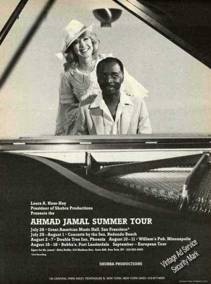Ahmad Jamal Photo & Summer Tour Jazz (1982)