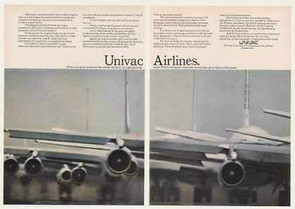 United Airlines Jets Univac Computer System 2-P (1968)