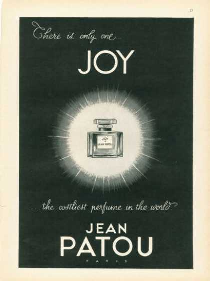 Jean Patou Joy Perfume Bottle (1958)