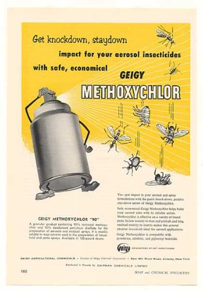 Geigy Methoxychlor 90 Insecticide (1958)